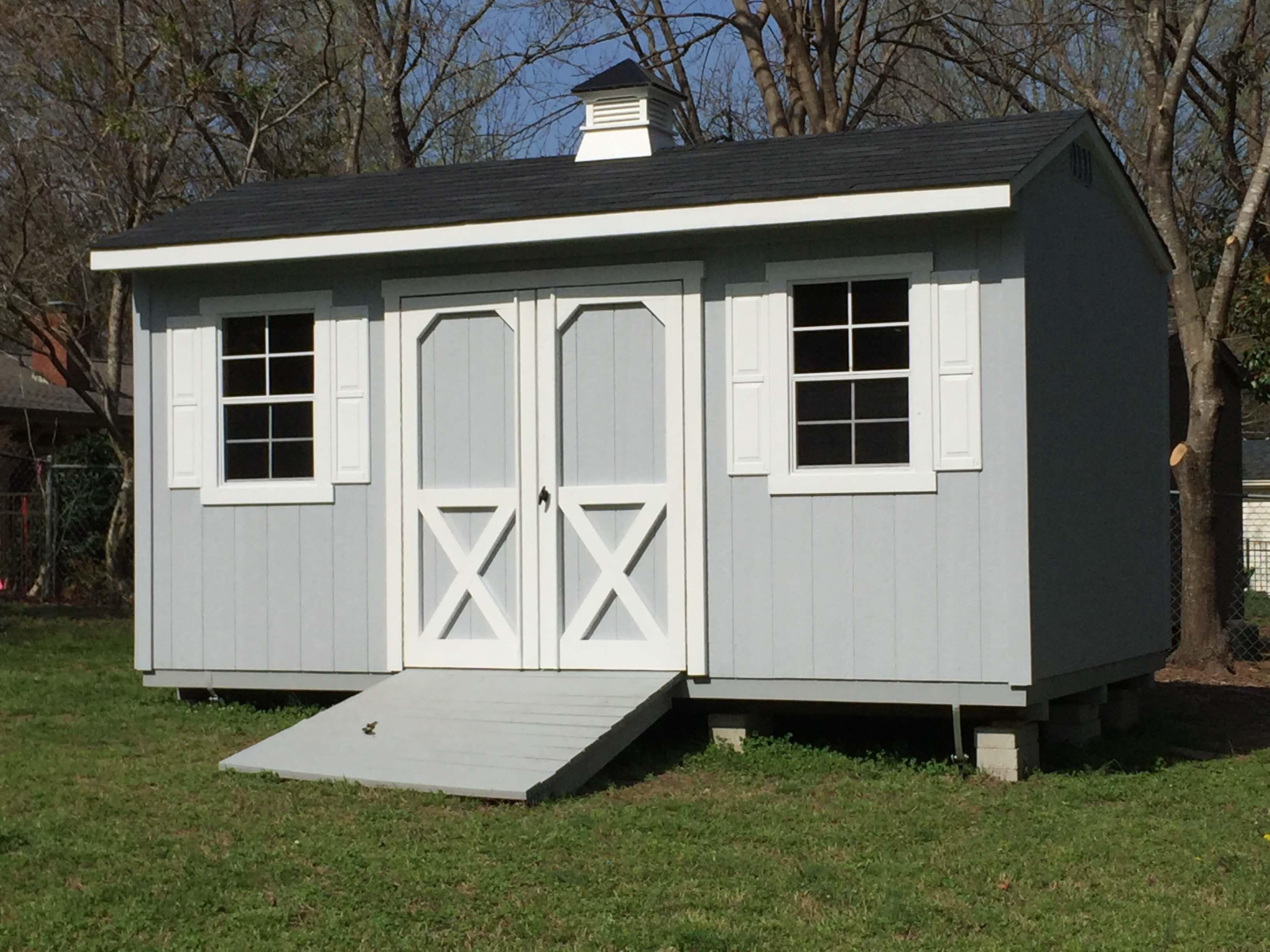 Saltbox Garden Shed NC | Tackroom | Carolina Yard Barns