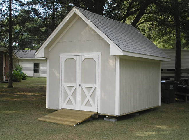 Multipurpose Outdoor Shed Raleigh Chalet Carolina Yard