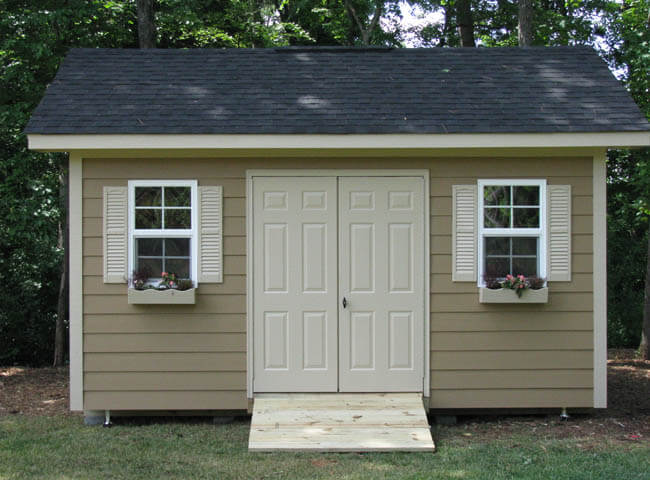 Outdoor storage sheds raleigh heritage carolina yard barns for Garden shed 12x10