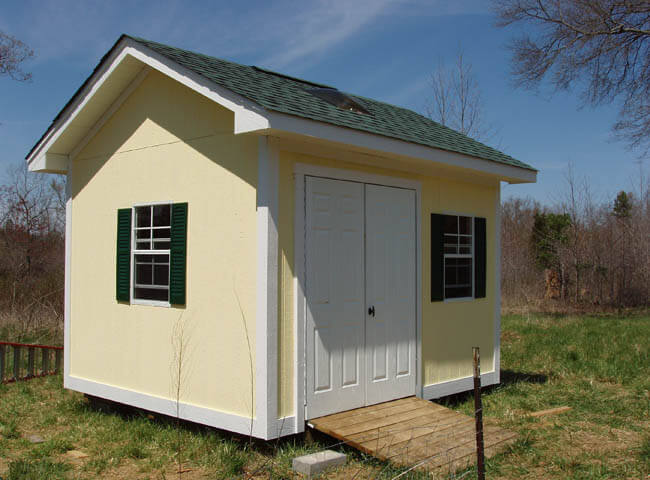 custom shed the heritage