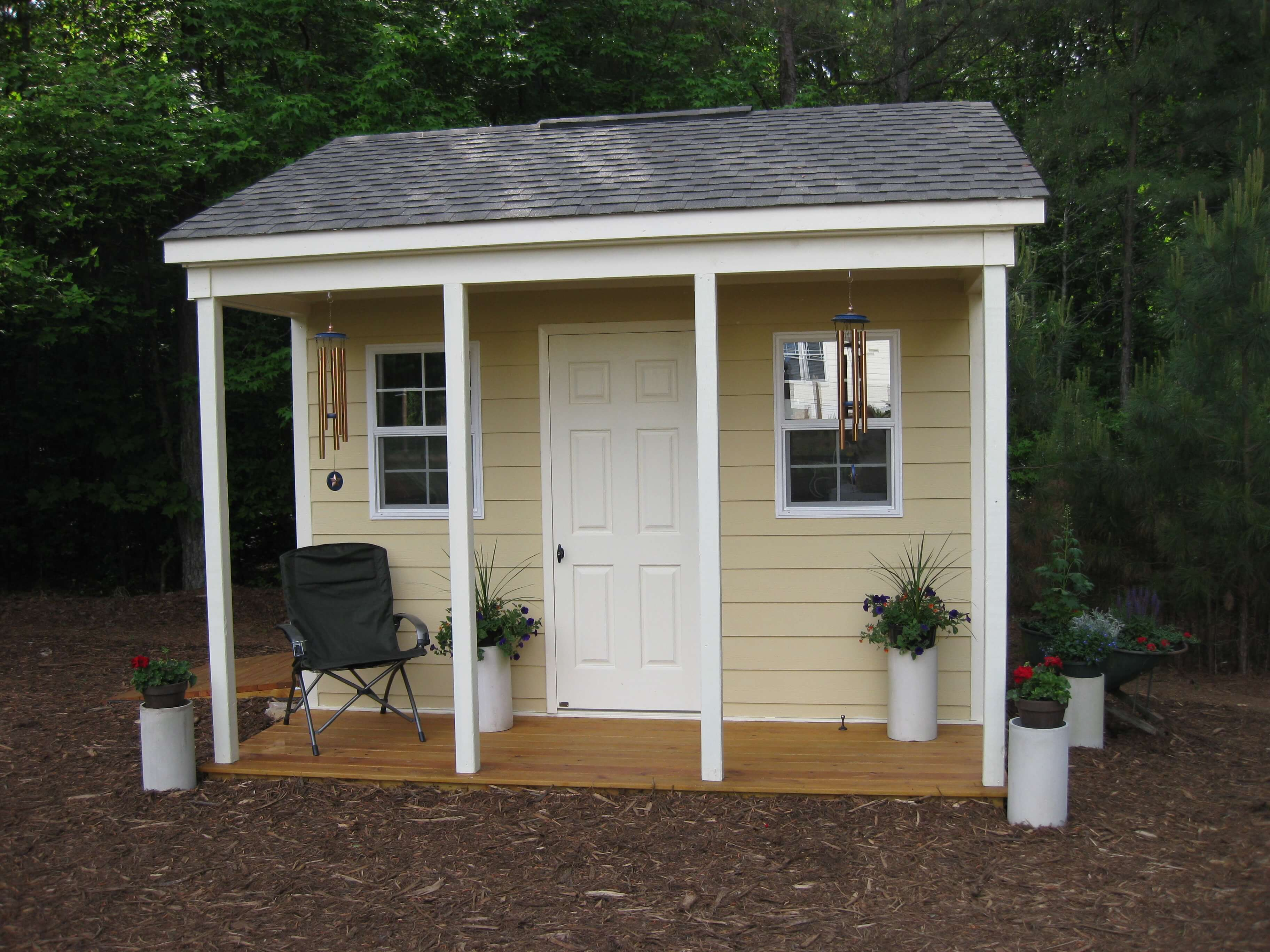 shed types cyb carolina sheds yard garage outdoor barns chalet raleigh nc style multipurpose