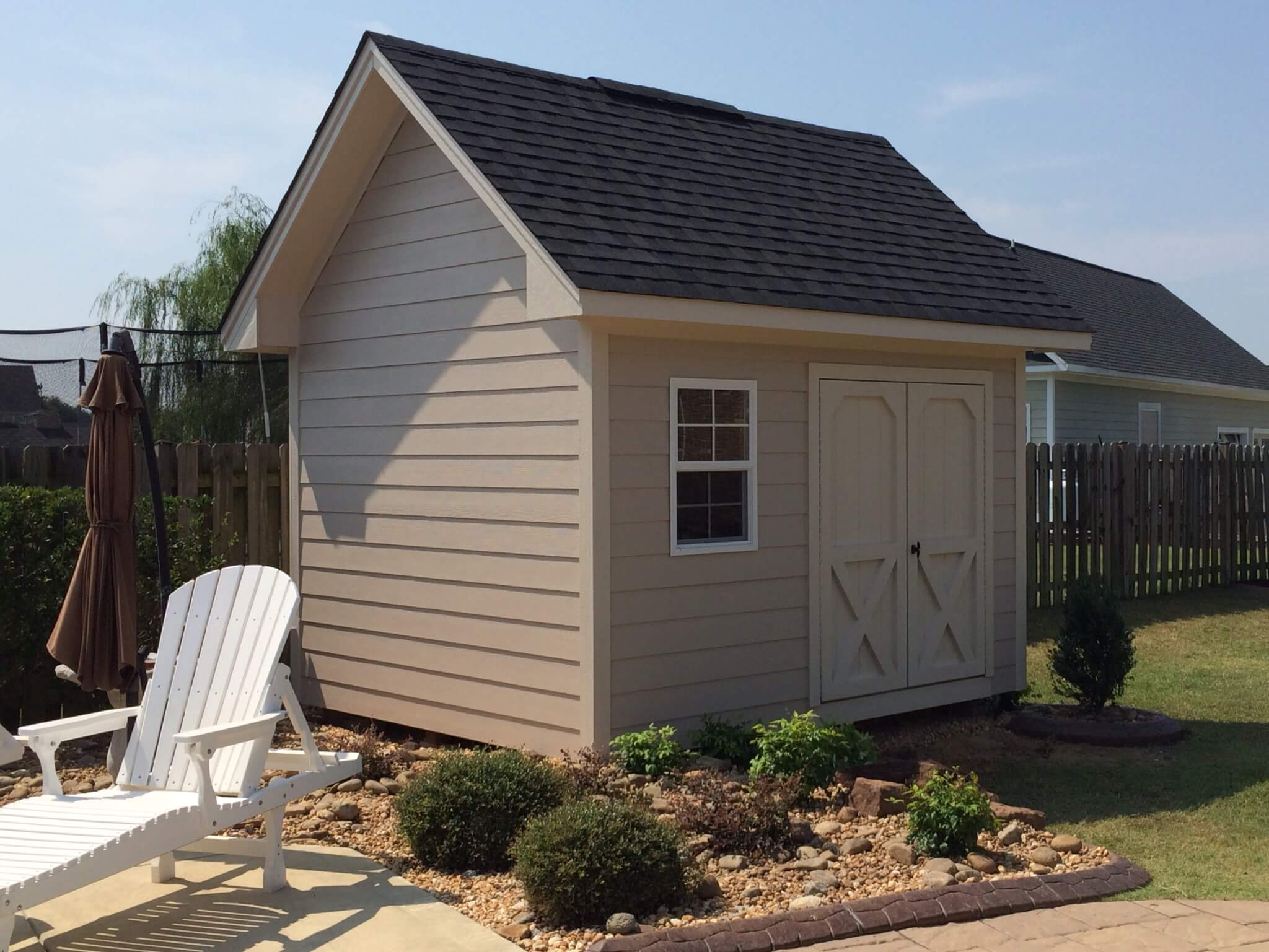 Chalet Style Shed